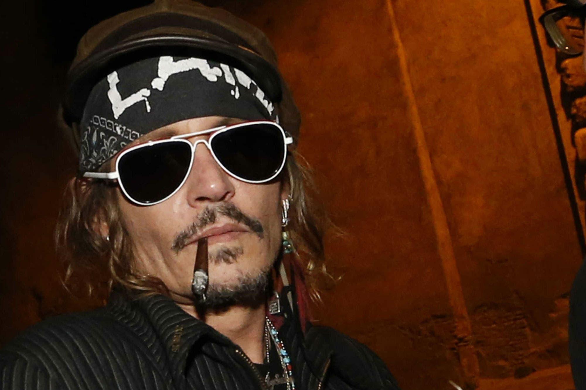 Johnny Depp demandado por pegarle a un miembro del equipo de su última película