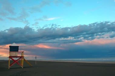 La Chiquita es una de las playas más solitarias de la provincia de Buenos Aires