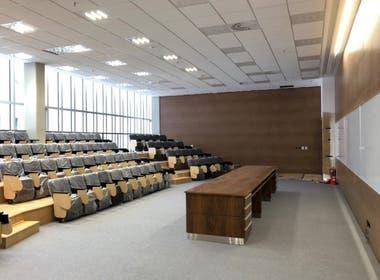 Las aulas del edificio Cero+Infinito tendrán la última tecnología
