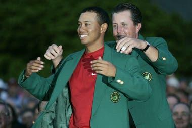 Woods campeón del Masters de Augusta de 2005
