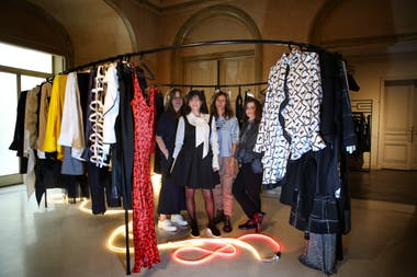 Marcela Naon y Patricia Domínguez, de Daels, organizaron este evento con la curaduría de Matilde Quintana y Damasia Lemos.
