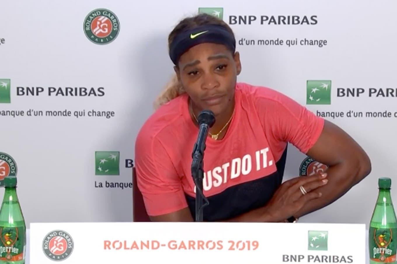 """Tras el incidente en Roland Garros, Thiem le propone jugar un """"dobles mixto"""" a Serena Williams"""