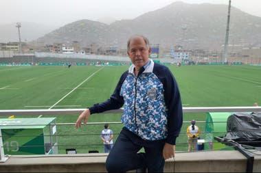 Gerardo Werthein, el presidente del Comité Olímpico Argentino, está en Lima a la cabeza de la delegación de 536 deportistas albicelestes.