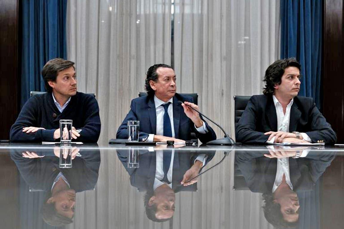 El anuncio fue realizado esta tarde por el ministro de Producción y Trabajo, Dante Sica, el secretario de Comercio Interior, Ignacio Werner y el Director Nacional de Defensa al Consumidor, Fernando Blanco Muiño