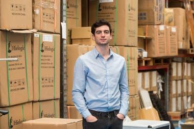 Joaquín Tantessio, gerente de la fábrica de filtros de agua Argenfil
