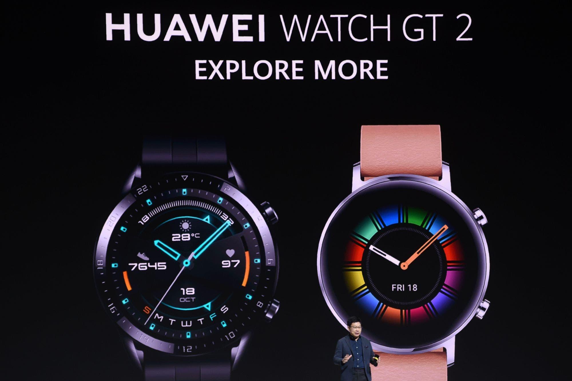 Huawei Watch GT 2: un reloj inteligente que apuesta por la autonomía