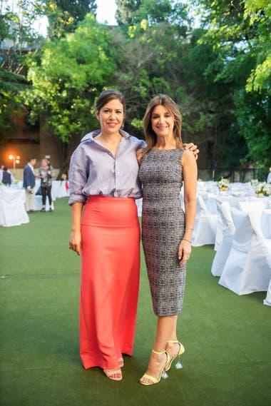 Carminne Dodero y Claudia Oyhandy