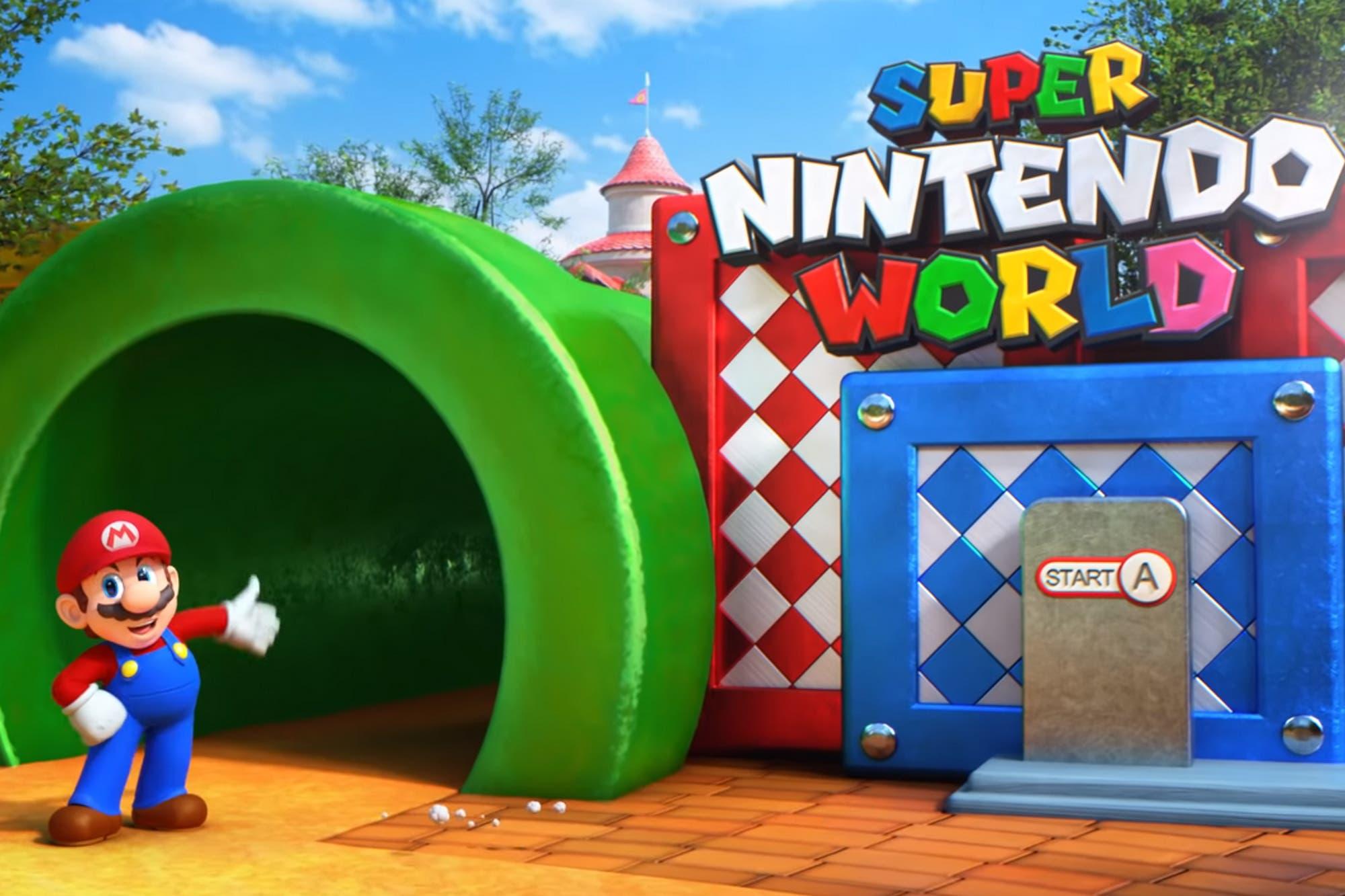 Super Nintendo World: así será la nueva atracción de los parques temáticos de Universal Studios
