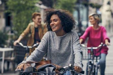 Andar en bicicleta es bueno para bajar de peso