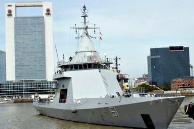 Bouchard, el nuevo patrullero de la Armada