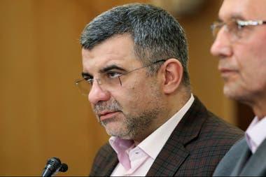 El viceministro de Salud iraní, Iraj Harirchi