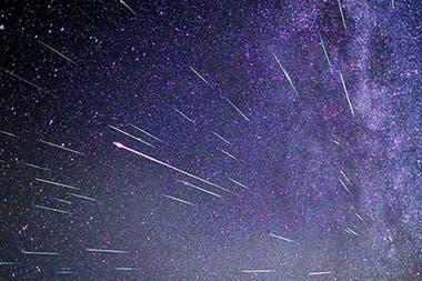 El fenómeno se produce cada año en esta época, y se podrá ver en su mayor esplendor la noche del 22 de abril