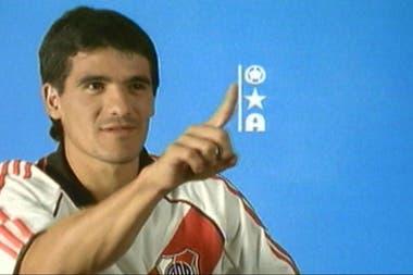 Ortega, protagonista de una vieja emisión de Fútbol de Primera