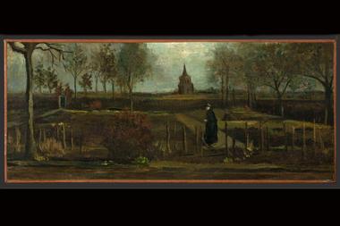 """""""Jardín rectoral en Nuenen en primavera"""" fue sustraída del Museo Singer Laren"""