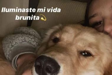 Junita Tinelli junto a su mascota, Brunita ( Foto: Instagram)