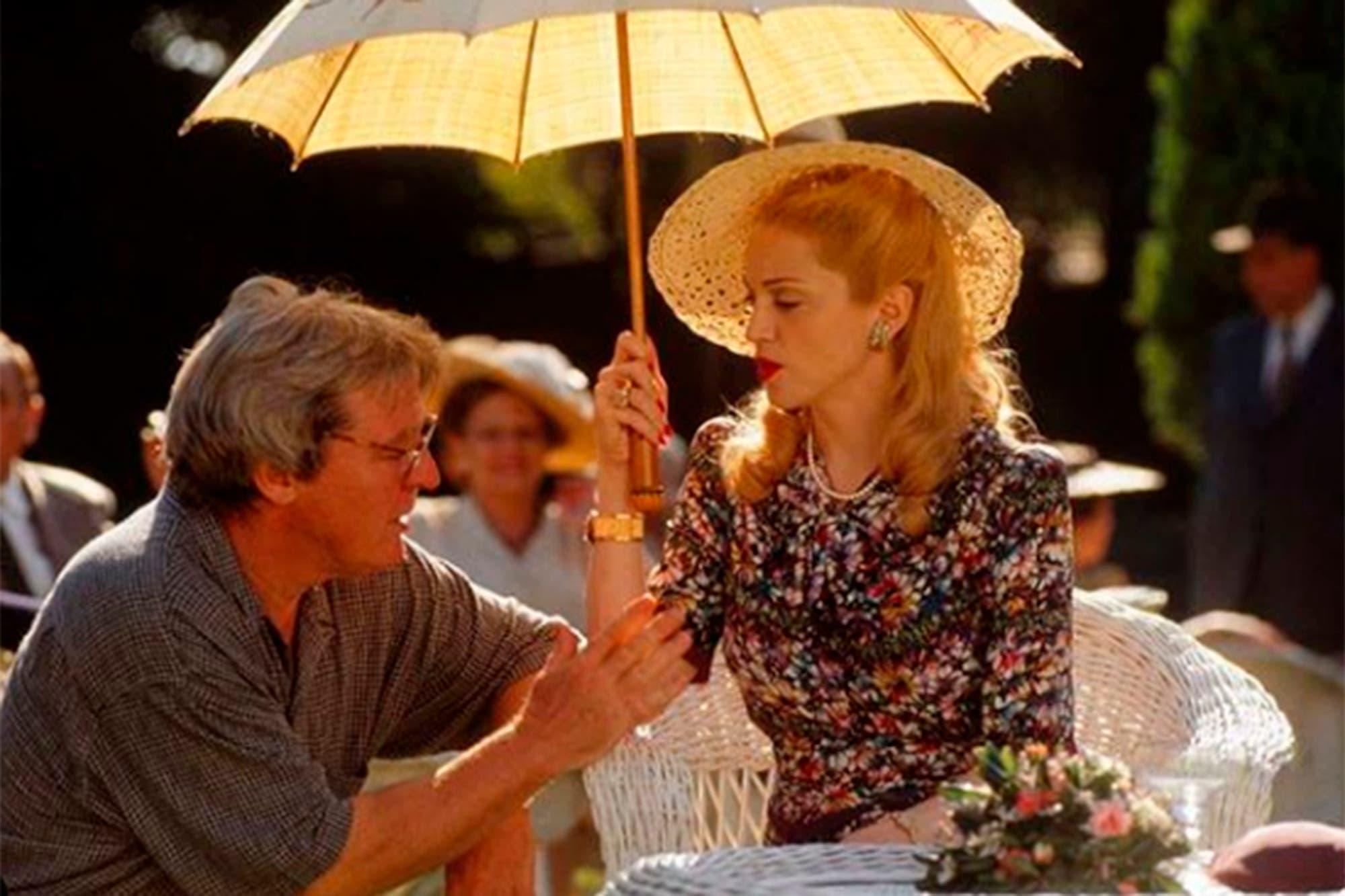 La muerte de Alan Parker: los emotivos homenajes de Madonna y Antonio Banderas