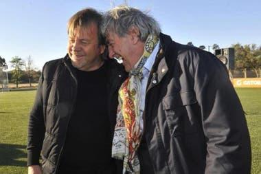 Con Armando Pérez, presidente de Belgrano: una sociedad perfecta