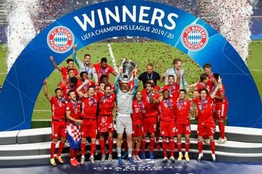 Bayern Munich, reciente ganador de la Champions League, es el club europeo con más títulos en el Siglo XXI