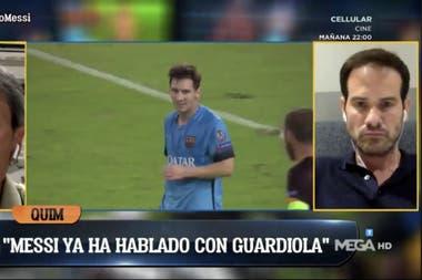 En El Chiringuito dieron por hecho que Messi comenzó gestiones con Manchester City