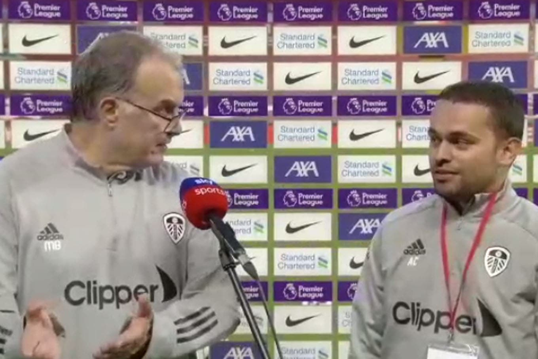 Marcelo Bielsa: lo que dijo después de la derrota de Leeds ante Liverpool en el estreno de la Premier League y un reto a su tímido asistente de prensa