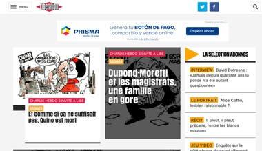 El diario Libération, de Francia