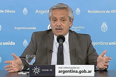 Alberto Fernández anunció la prórroga de medidas por el coronavirus hasta el 29 de noviembre
