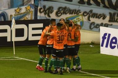 Atlético Tucumán-Banfield: 1er gol de Banfield