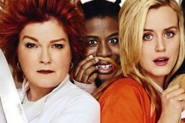 Kate Mulgrew, Uzo Aduba y Taylor Schilling, tres de las cinco nominadas de Orange is the New Black