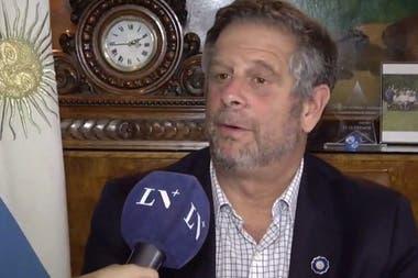El ministro de Salud dio una entrevista a LN