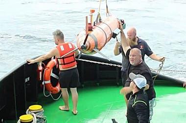 El experto en búsqueda subacuática espera una respuesta de Macri a su propuesta para buscar el ARA San Juan; pide US$3,8 millones