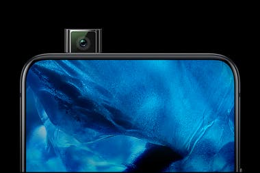En el Vivo Nex, la cámara frontal se oculta dentro del teléfono cuando no está en uso