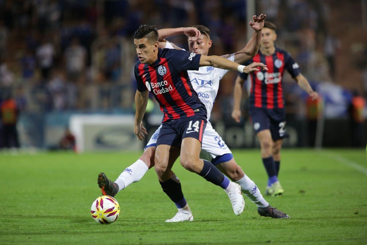 Godoy Cruz-San Lorenzo: el Ciclón busca su primera victoria en la Superliga