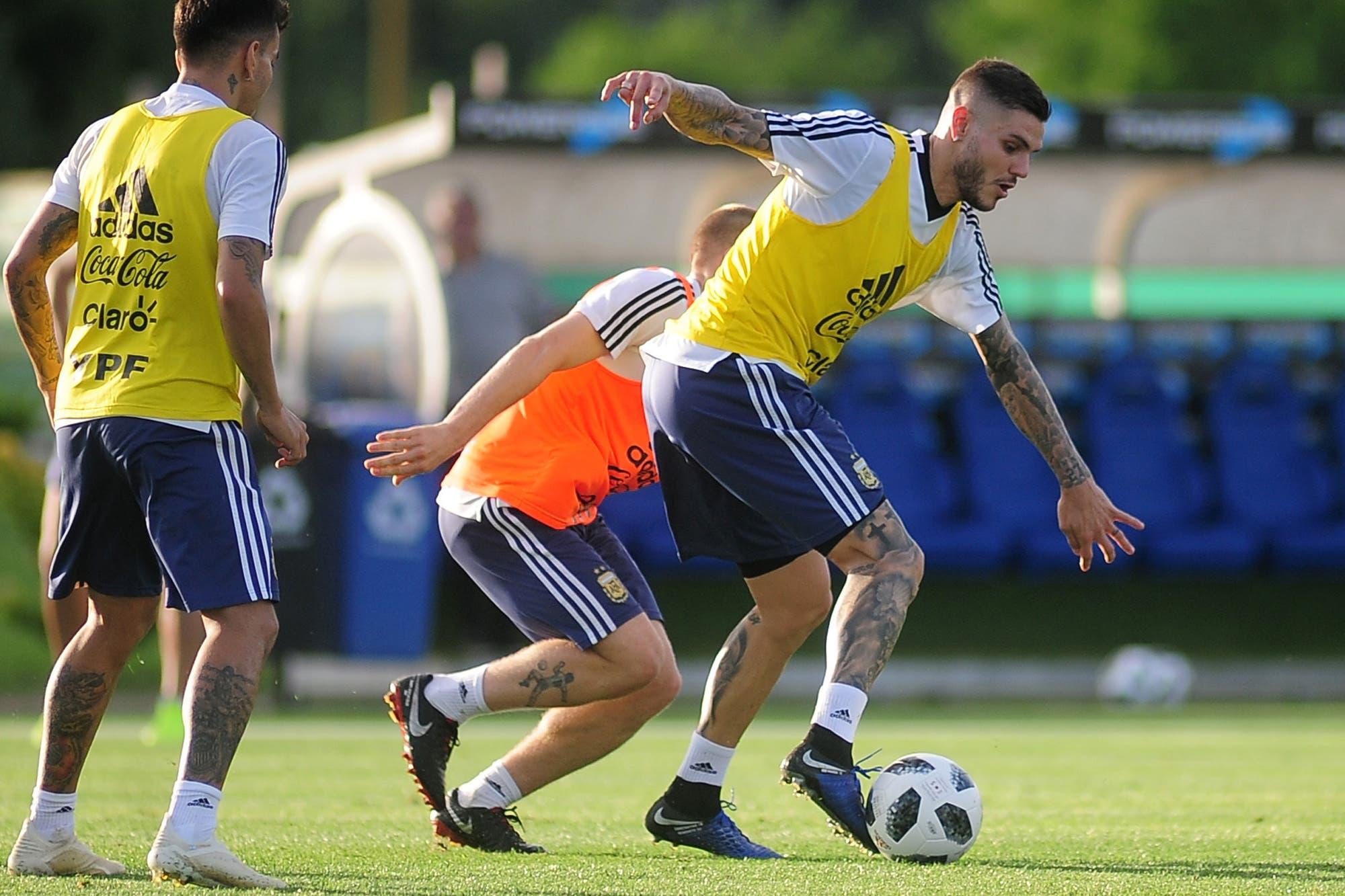 """La obsesión de Mauro Icardi en la selección argentina: """"Ojalá que ahora llegue el gol"""""""