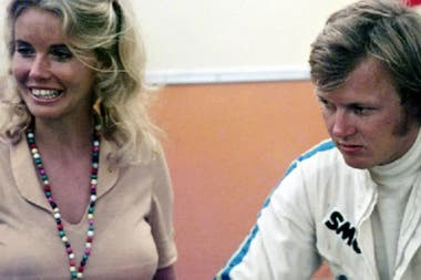 Ronnie Peterson y Barbro Christina Edvardsson.