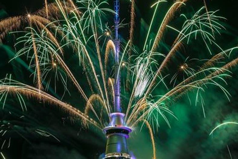 Nueva Zelanda ya celebra la llegada de un nuevo año