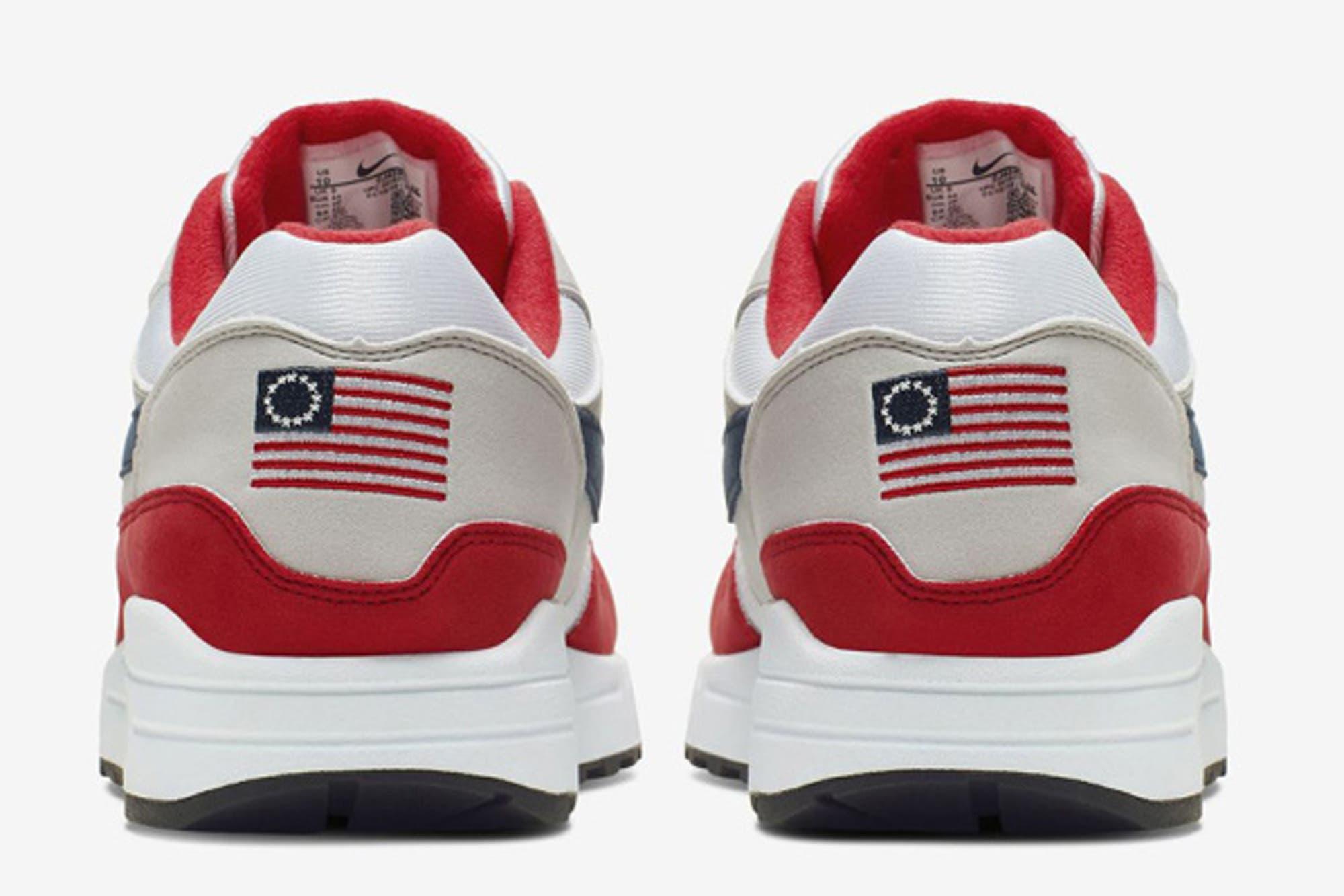 """La polémica en EE.UU. por """"la bandera de Betsy Ross"""" que hizo que Nike retirara unas zapatillas"""