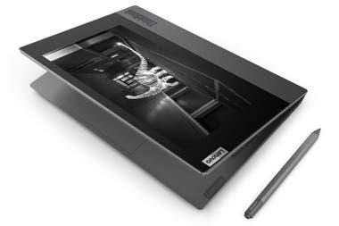 La Lenovo Thinkbook Plus lleva una pantalla de tinta electrónica en la tapa de la notebook