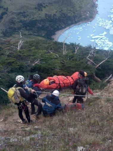 Se trata del primer rescate de la temporada de montaña