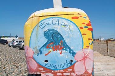 Playa Unión, el balneario de Rawson