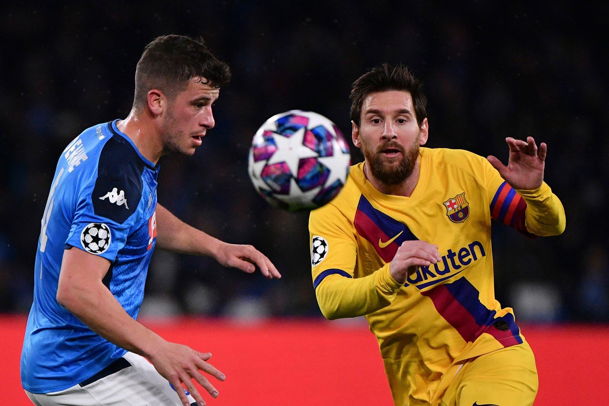 Napoli-Barcelona, por la Champions League: el 1 a 1 en el San Paolo dejó mejor parados a los catalanes