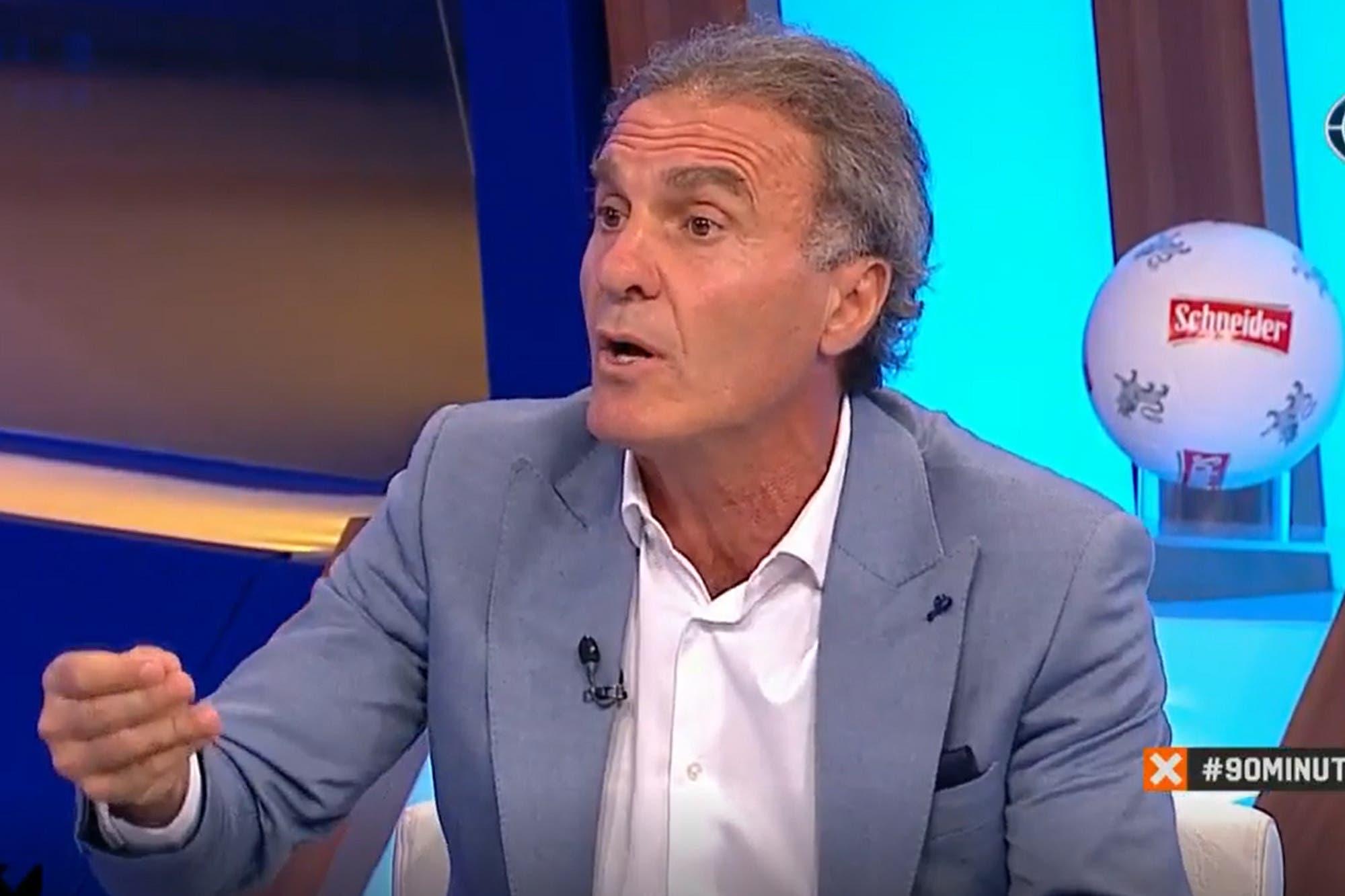 """Oscar Ruggeri recordó el día que perdió 7-1 contra Boca: """"Fue un partidazo"""""""
