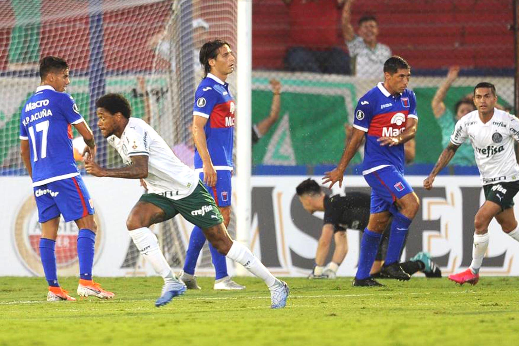 Tigre-Palmeiras, por la Copa Libertadores: el equipo argentino cae en su debut copero
