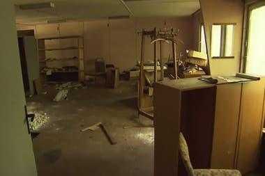 Así es la fábrica abandonada por dentro, que Cristian Brueckner utilizaba como guarida