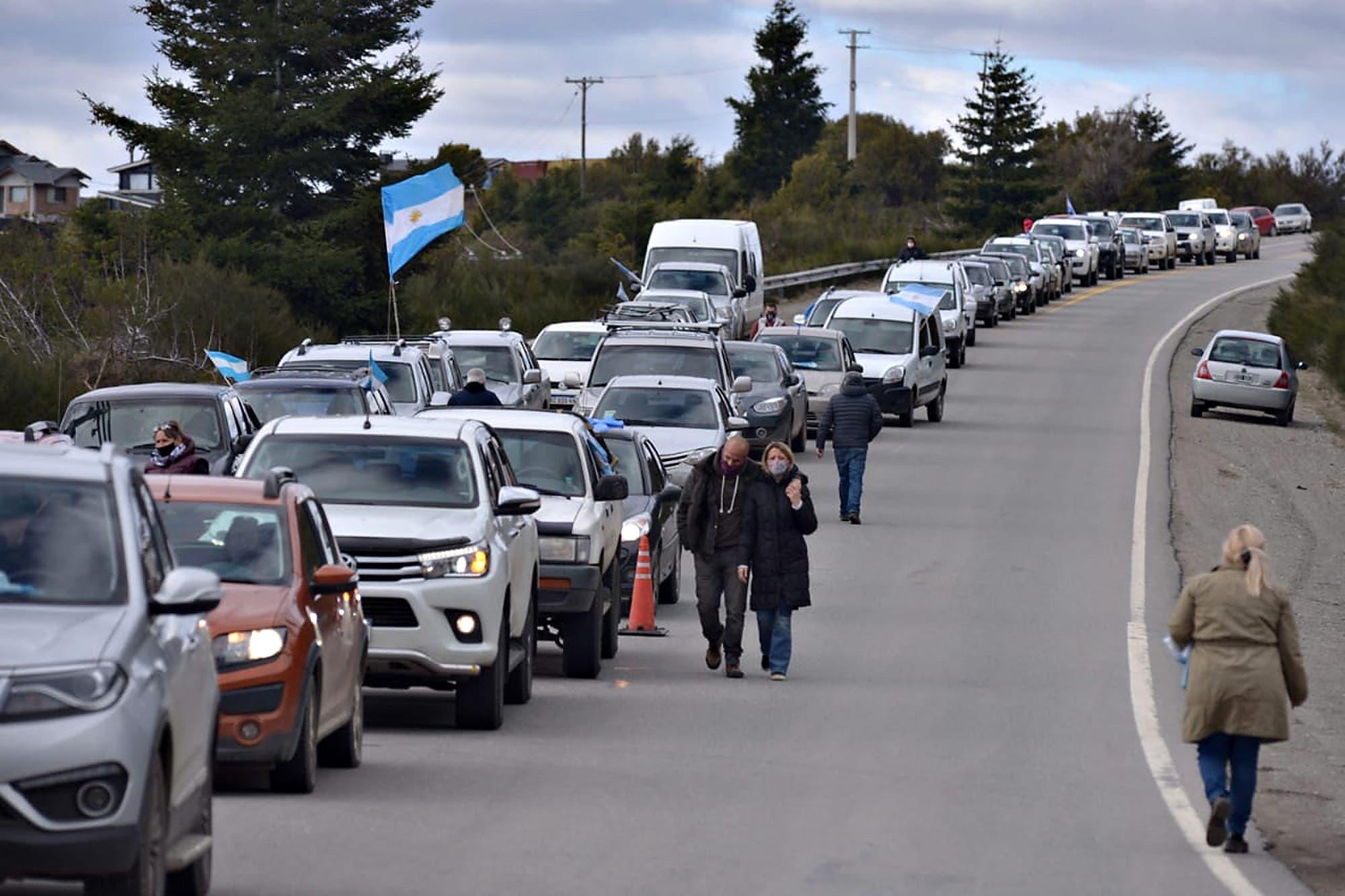 Villa Mascardi: el Ministerio de Seguridad denunció a los manifestantes que protestaron contra la toma de tierras
