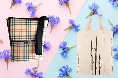 Un bolso matero y un totebag son dos ítems imprescindibles para las salidas de primavera