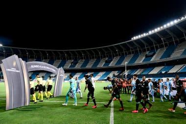 Una postal que será habitual: estadios vacíos en el regreso de la Copa por la pandemia de coronavirus