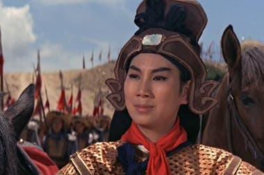 Una escena de la versión de ópera de Huangmei, Generala Hua Mu-Lan