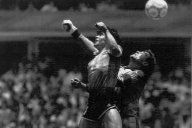 La mano de Dios, en México 86; el recordado primer gol ante Inglaterra