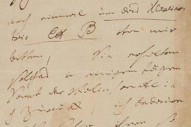 Subastaron una carta de Beethoven por US$ 275.000, un valor cuatro veces mayor al inicial