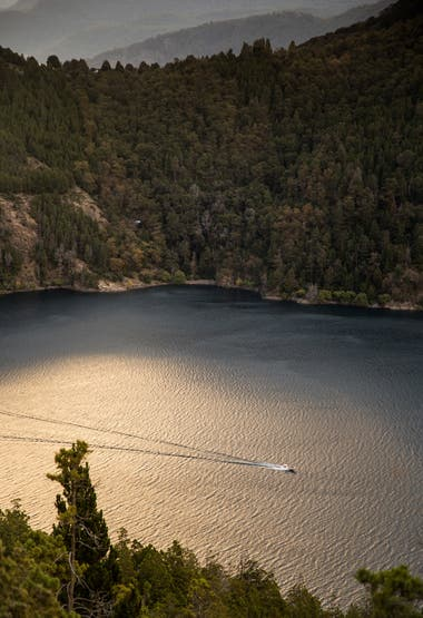 Con vista al Lago Lácar